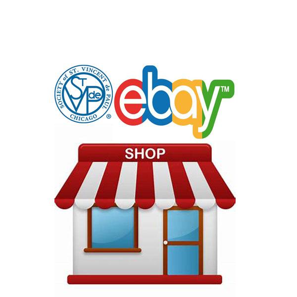 St Vincent DePaul Ebay Shop Store