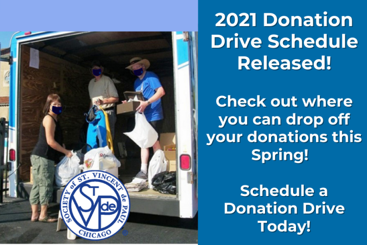 Donation Drive News