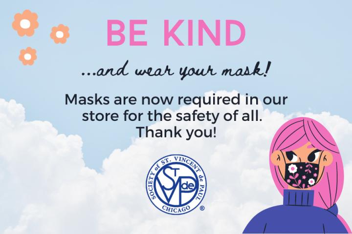 Copy of Be Kind, Wear a Mask